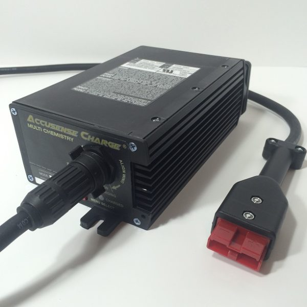 24 Volt Battery Charger With SB50 Red Connector