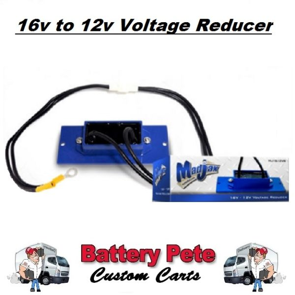 Golf Cart Voltage Reducer 16v to 12v Madjax BP