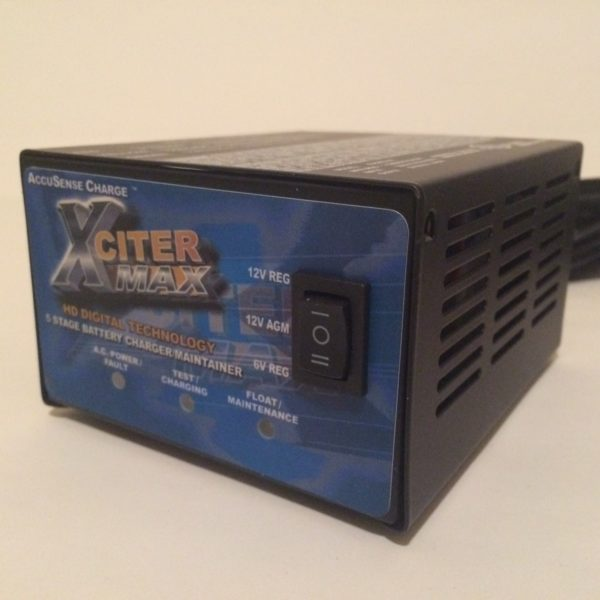 6 Volt 12 Volt Battery Charger DPI AccuSense XciterMax