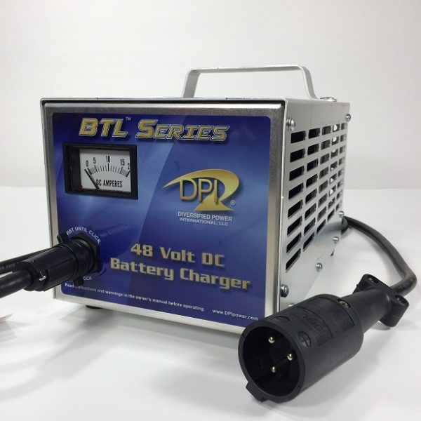 48 Volt Club Car Golf Cart Battery Charger DPI Gen IV