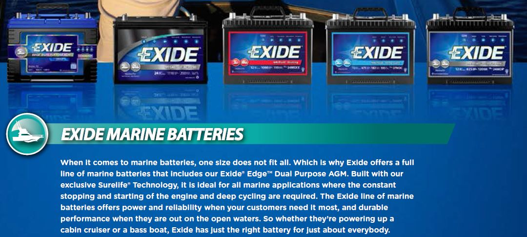 Marine Family of Batteries Image