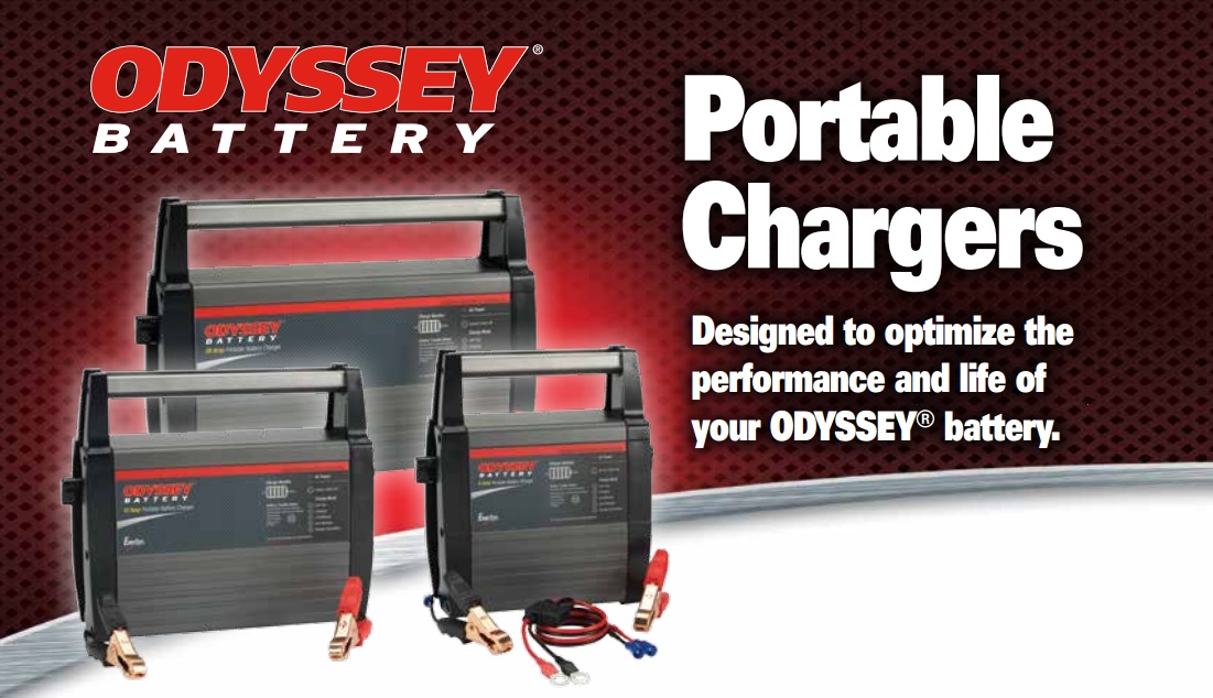 Odyssey battery charger OBC-6A, OBC-12A, OBC-20A