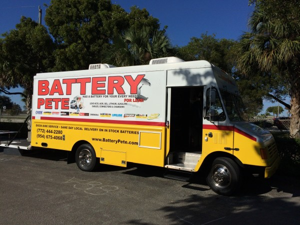 The BatteryPete Batt Mobile