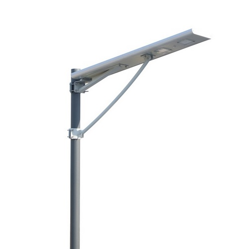 30 Watt Pole Mounted Solar Powered Street Light - Installed