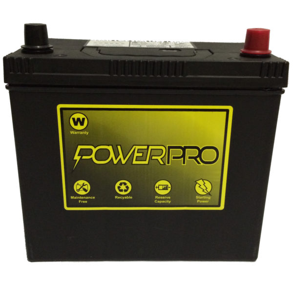 PowerPro 12V Automotive Battery 51R-4