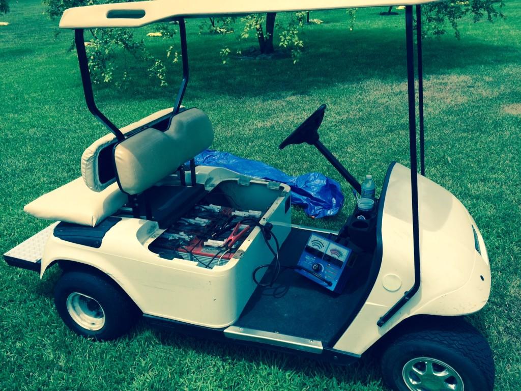 EZGO Golf Cart- BatteryPete.com