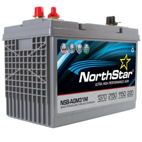 NorthStar-NSB-AGM31M Battery