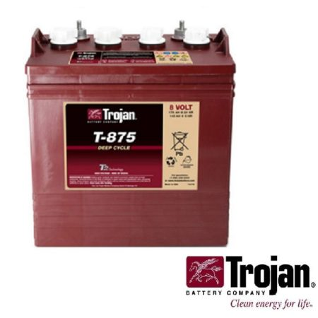 Golf Cart Battery Trojan T-875 8 volt