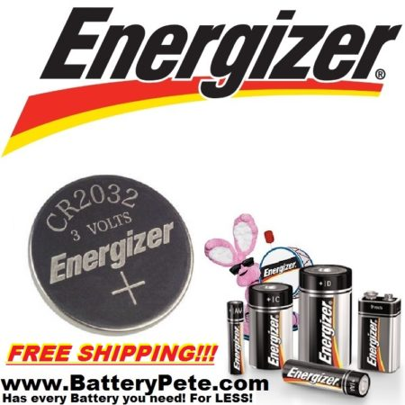 Key Fob Battery - Energizer - 1pk (CR2032)