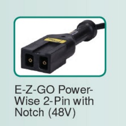 EZGO PowerWise 2 Pin with Notch 48 volt Connector