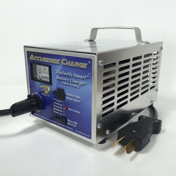 DPI 36 Volt Golf Cart Battery Charger - Crowsfoot Connector