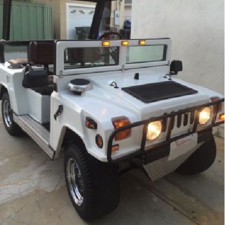Hummer H1 on Club Car Chassis side 2