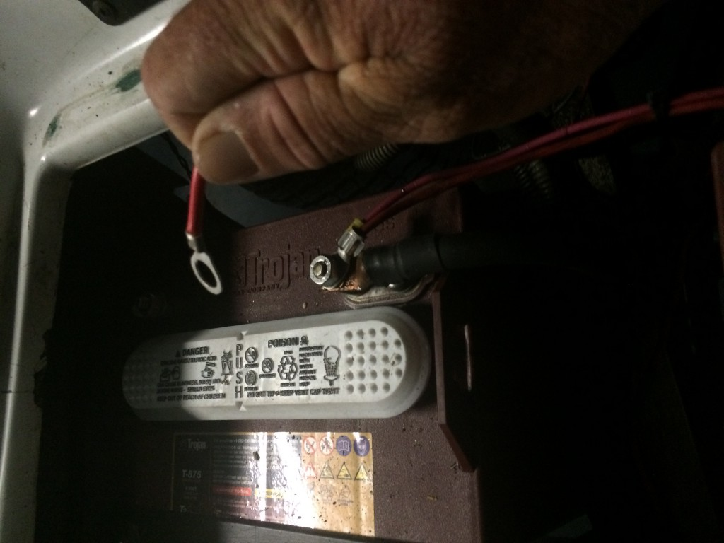 how to install a delta q quiq charger on your golf cart