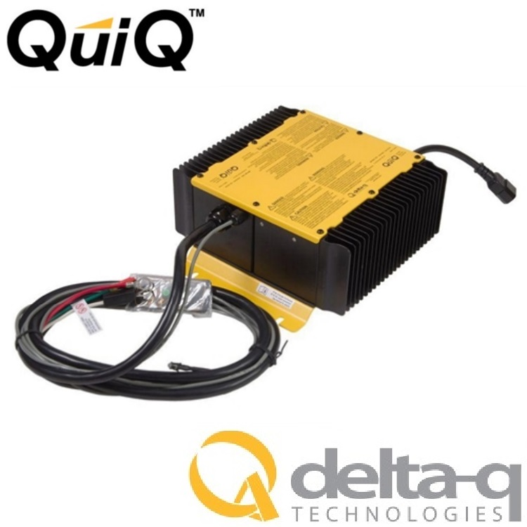 gem car battery charger delta q quiq 72 volt 12 amp 912-7200-d1