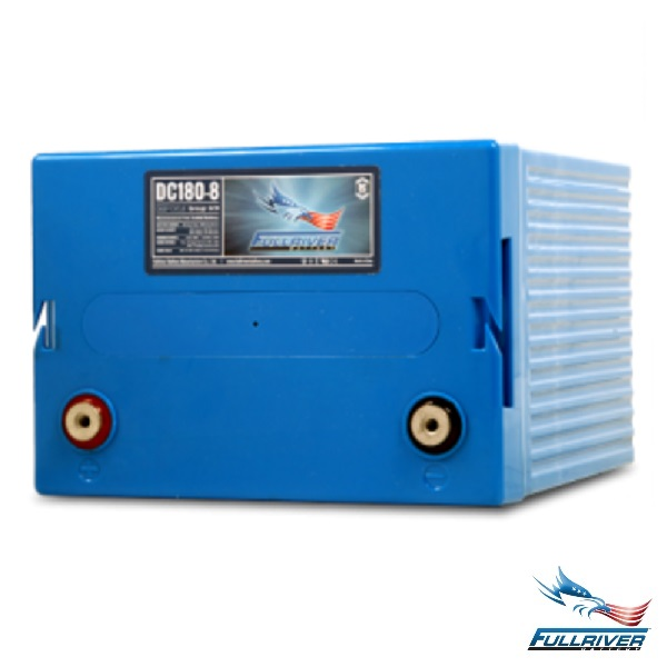 Fullriver Battery DC180-8 AGM 8 Volt 180Ah