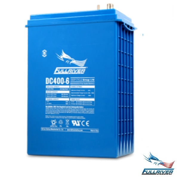 Fullriver Battery DC400-6 AGM 6 Volt 400Ah
