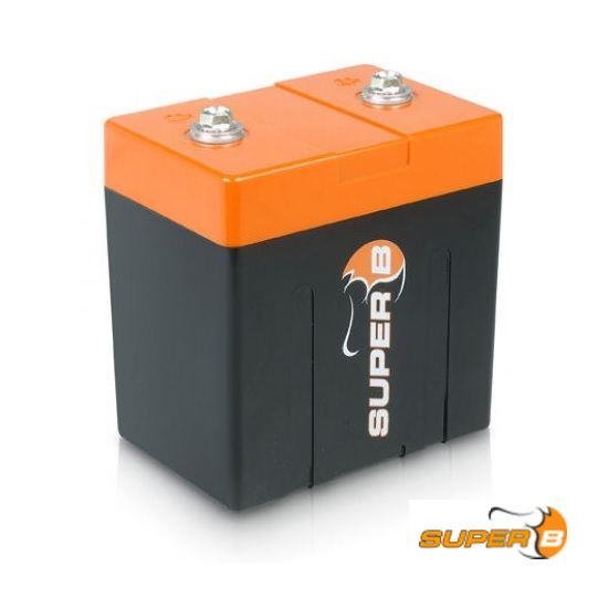 Super B 12v Lithium Battery (LiFePO4) SB12V10P-DC