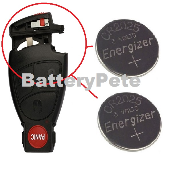 Key Fob Batteries For Mercedes Benz Remote E300 E320 E350 E400 E500 E550 E55 E63