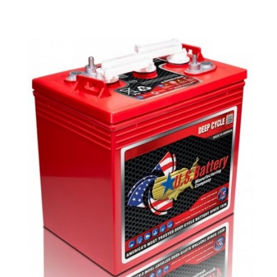 US2000XC US Battery 6 Volt Golf Cart Battery 220Ah