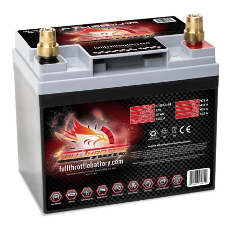 Full Throttle FT438-U1R AGM Battery