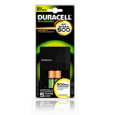 Duracell Ion Speed 500 Battery Charger (CEF7)