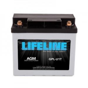 Lifeline GPL-U1T AGM Battery