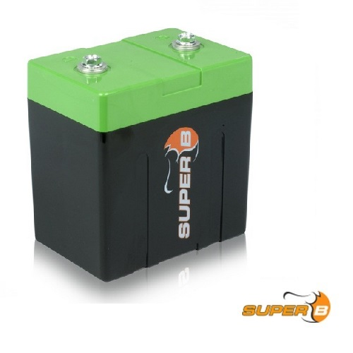 Super B SB12V13E-DC 12 volt Lithium Battery